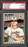 #5: Bill Ripken F**K FACE error card PSA 10 1989 fleer