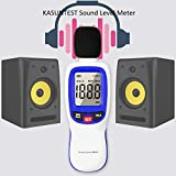 KASUNTEST Digital Sound Level Meter, Decibel Meter