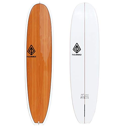 Paragon Surfboards Performance Mini Log | Fun & Easy to Ride Surfboard for All Surfing Skill Levels | Unique ParaLite Technology | 7'8