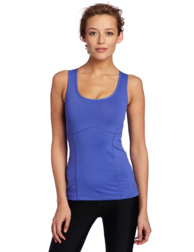Danskin Women's Sculpt Tank, Day Dream Blue Medium