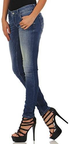 d Cuneo Slim Blue Destroyed o Scarlett Jeans M Donna YTxqn5HIqw