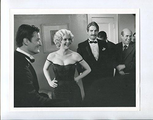"MOVIE PHOTO: Mae West 7""x9"" Black and White Promotional Still Ann Jillian James Brolin FN"