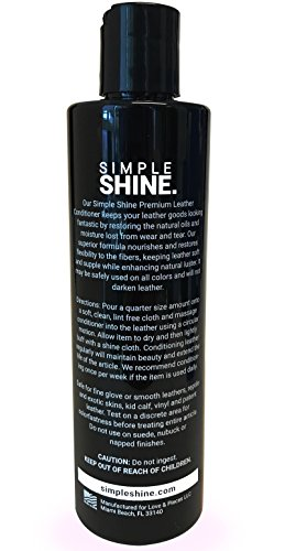 Premium Leather Conditioner | No Stain Restore, Protect & Condition Shoes, Boots, Bags & Furniture by Simple Shine (Image #5)