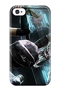 2348475K745391234 wings blue apples Anime Pop Culture Hard Plastic iPhone 4/4s cases