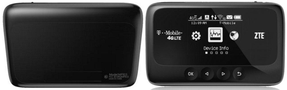 ZTE Z915 4G LTE Mobile Hotspot, T-Mobile by ZTE