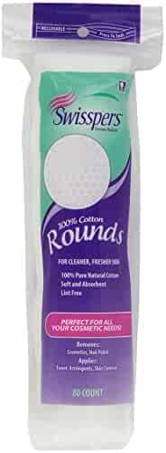 Swisspers Multicare Cotton Rounds, 80 Count