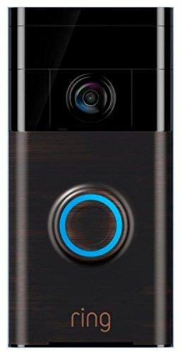 Ring Wi-Fi Smart Video Doorbell - Venetian Bronze