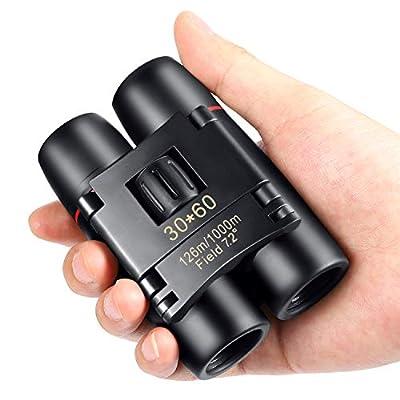 30 x 60 Mini Compact Binoculars, SNIGJAT Binocular Bird Watching Kids Children Wildlife Hunting Durable Portable Fogproof Waterproof Binoculars Telescope Travelling