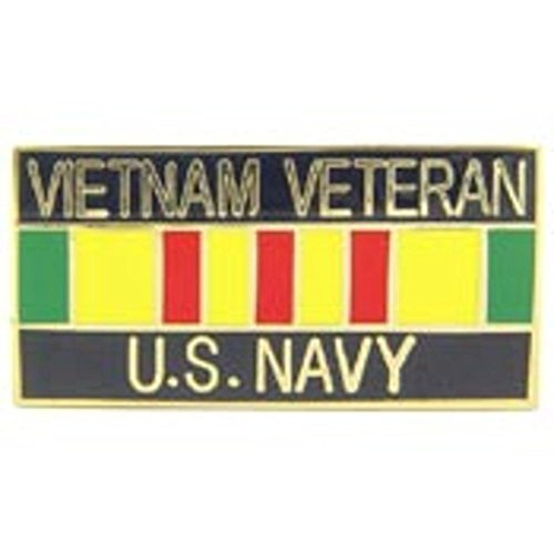 - U.S. Navy Vietnam Veteran Ribbon Pin 1