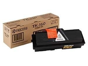 KYOCERA TK-160 - Tóner para impresoras láser (2500 páginas, Laser, Kyocera) Negro