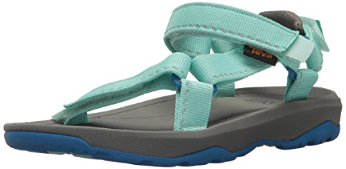 Teva Girls' K Hurricane XLT 2 Sport Sandal, Speck Sea Glass, 13 M US Little Kid (Best Teva Sandals For Walking)