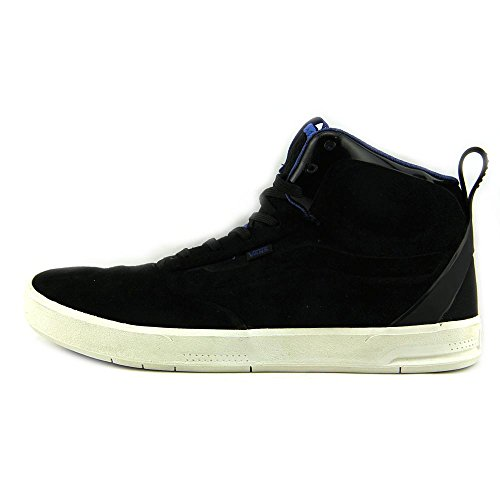 Amazon.com   Vans Men's Segment Black/True Blue High-Top Skateboarding Shoe  - 12M   Fashion Sneakers