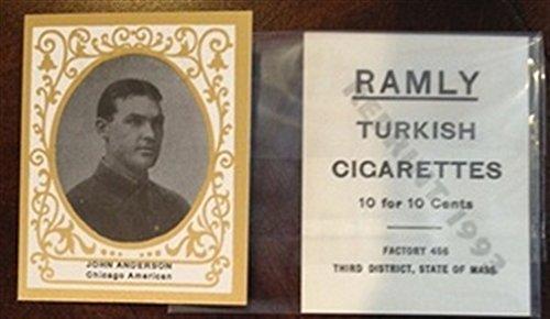 1900s T204 Ramly Cigarettes Reprint Chicago White Sox Team