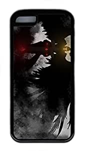 iPhone 5C Case, iPhone 5C Cases - Durable Protective Black Soft Rubber Back Case for iPhone 5C Kayle League Of Legends Game Utral Slim Soft Back Bumper Case for iPhone 5C by runtopwell