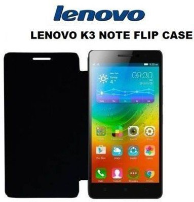 quality design da9d0 6afa1 ICON DESIGN Flip Cover for Lenovo K3 Note