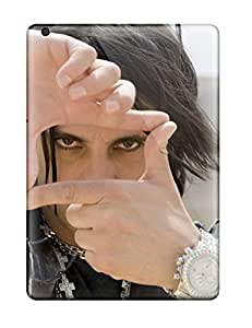 Ipad Air Hard Back With Bumper Silicone Gel Tpu Case Cover Criss Angel
