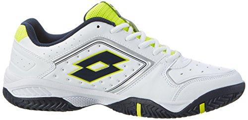 Lotto T-Tour Ix 600, Zapatillas de Tenis para Hombre Blanco (Wht /     Blu Avi)