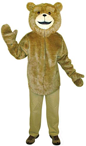 Ted Costume For Adults (Rasta Imposta Ted Tunic, Tan,)