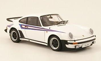 Porsche 911 Turbo 3.0, blanco con rallado , 1975, Modelo de Auto, modello completo, AutoArt 1:18: Amazon.es: Juguetes y juegos