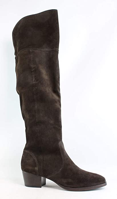 569c66ce3de Frye Women s Clara OTK Leather Slouch Boot  Amazon.ca  Shoes   Handbags