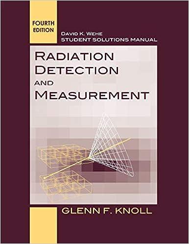 Radiation Detection And Measurement 4e SSM