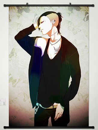 Wall Scroll Poster Fabric Painting For Anime Tokyo Ghoul Uta