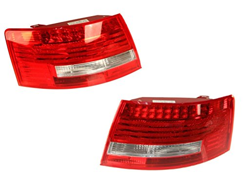 2005 Audi A6 (Audi A6 S6 2005 - 2008 OEM LED Tail Lights Rear Outer Left + Right Set of 2)