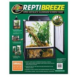 - Reptibreeze Open Air Aluminum Screen Cage