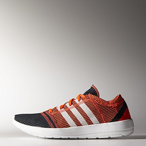 Adidas - Element Refine Tricot - Color: Blanco-Naranja - Size: 44.0