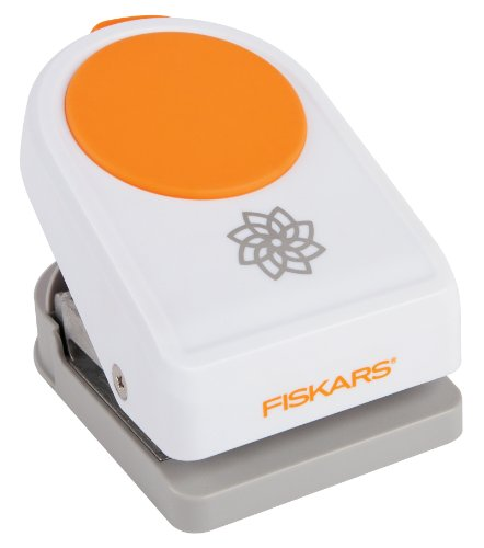 Fiskars 124000-1001 Intricate Shape Punch, Petals on Point