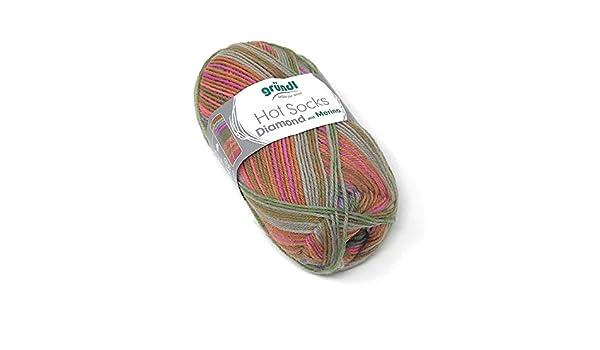 Gründl Hot calcetines de Lana Merino con diamond Colour{04}/ lana de merino: Amazon.es: Hogar