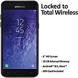 Total Wireless Samsung Galaxy J3 Orbit 4G LTE Prepaid Smartphone (Locked) - Black - 16GB - Sim Card Included - CDMA