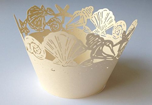 Seashell Cupcake Wrappers Standard Seashells product image