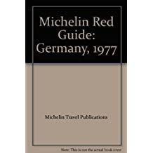 Michelin Red Guide: Germany, 1977