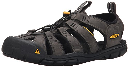 Image of KEEN Men's Clearwater CNX Leather Sandal