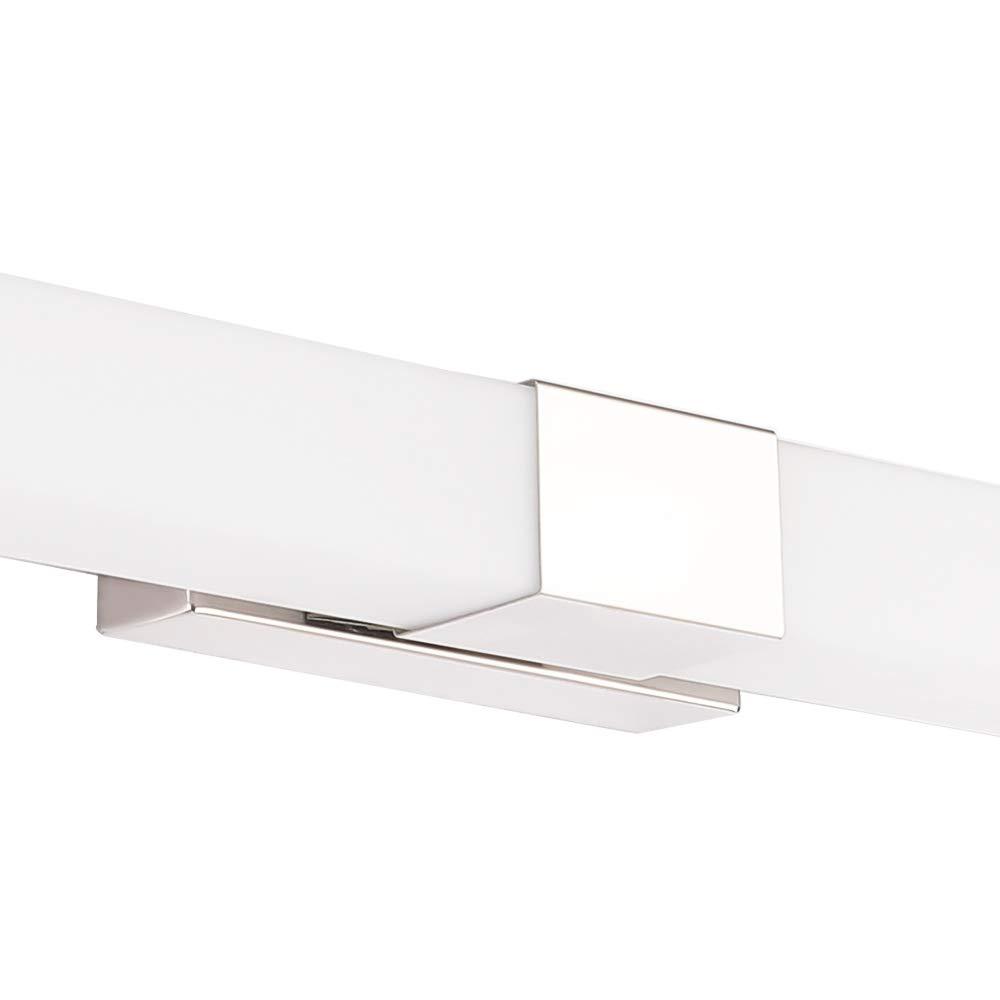 IP44 Wasserdichte Badleuchte f/ür Wandbeleuchtung und Badzimmer Schminklicht Wandleuchte Badlampe Froadp LED Spiegelleuchte 80cm 6000K 24W 1500lm