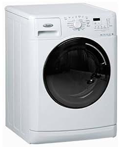 Whirlpool AWOE 8318 GG Independiente Carga frontal 8kg 1000RPM A Color blanco - Lavadora (Independiente, Carga frontal, Color blanco, Izquierda, Acero inoxidable, Negro)