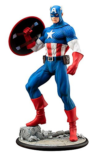 ARTFX MARVEL UNIVERSE Captain America 1/6 scale PVC painted pre-assembled figure 1/6 Pre Painted Pvc Figure