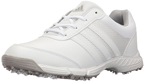 adidas Women's Tech Response Golf Shoe, White, 9 M US
