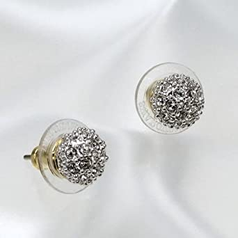 a9da580fa Swarovski Emma Pierced Earrings 1730583: Amazon.co.uk: Clothing