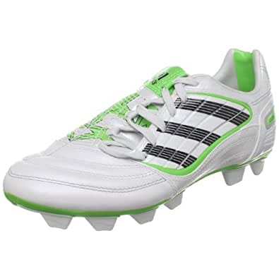 adidas PREDATOR Absolado_X TRX FG Soccer Cleat (Little Kid/Big Kid),Predator Running White Metallic/Black/Macaw,1.5 M US Little Kid