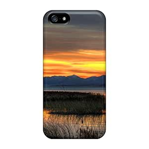 TinnySunshine Design High Quality Fall Evening At Utah Lake Hdr Cover Case With Excellent Style For Iphone 5/5s