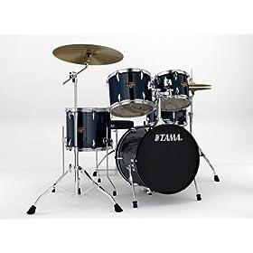 Tama Imperialstar 5-PC Set - Meinl HCS Cymbals - Bass Drum 7