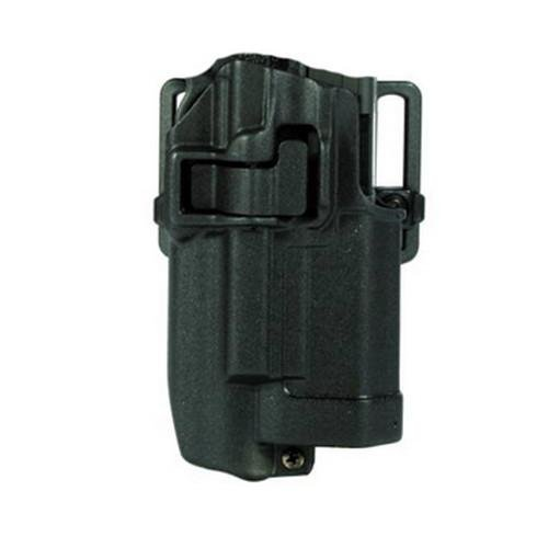 (Blackhawk Serpa Light Bearing Holster For Xiphos NT - Right Hand, Matte, Fits Glock 17/22/31 - 414500BK-R)