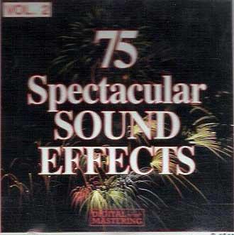 75 Spectacular Sound Effects, Vol. 2 Madacy NB0002BGLPK