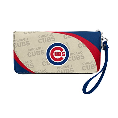 Littlearth MLB Chicago Cubs Womens Wallet Curve Organizer Stylechicago Cubs Wallet Curve Organizer Style, Team Colors, One Size