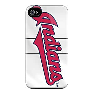 Protector Hard Phone Case For Iphone 6 (eiF302DMIE) Customized Lifelike Cleveland Indians Skin