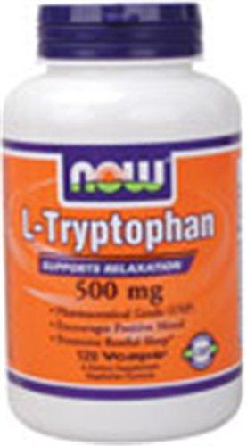 L Tryptophan 500mg 120 VegiCaps Pack