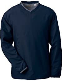 Men's Ashworth Microfiber V-neck Windshirt