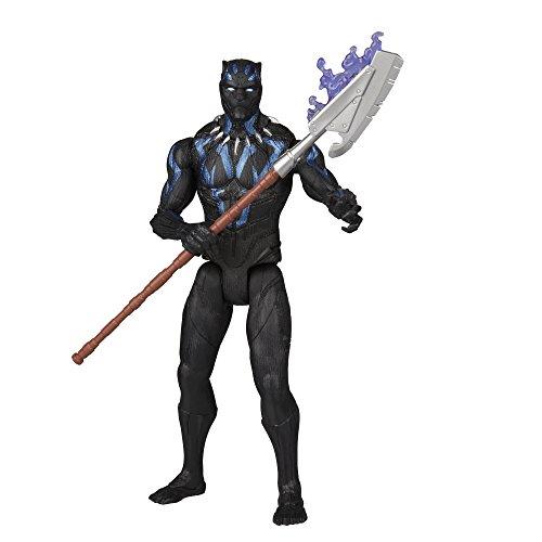 Marvel Black Panther 6-inch Vibranium Suit Black Panther